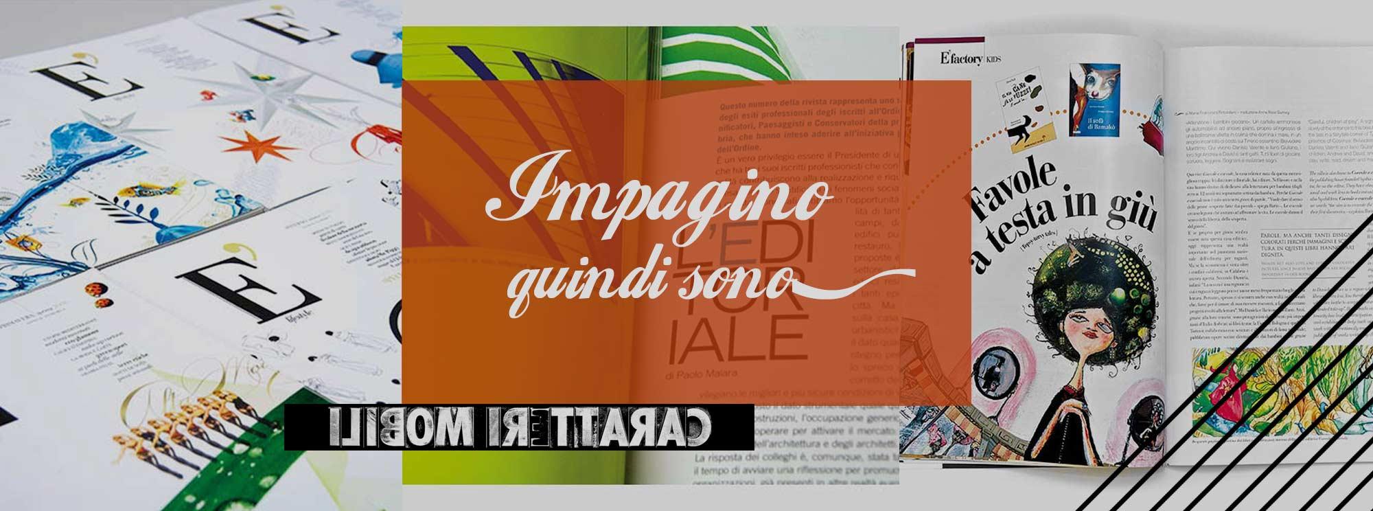 Impaginazione Agende Magazine Riviste Cataloghi