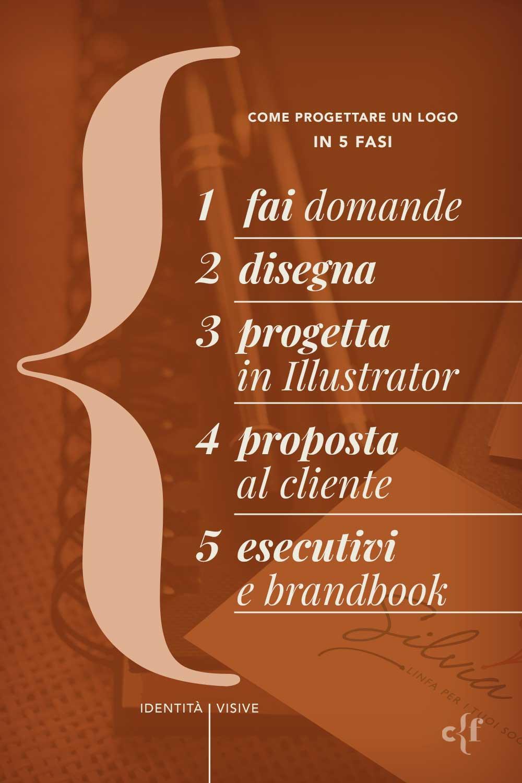 Le 5 fasi del come progettare un logo